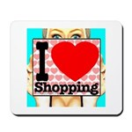 Express Your Passion For Shopping Mousepad