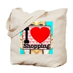 Express Your Passion For Shopping Tote Bag