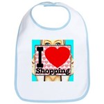 Express Your Passion For Shopping Bib
