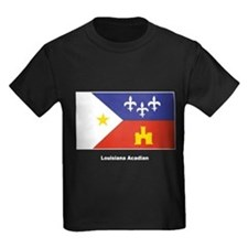 Louisiana Acadian Flag T