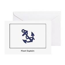Fleet Captain Flag Greeting Card