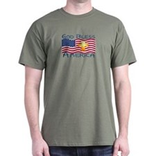 T-Shirt-God Bless America!