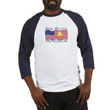 Baseball Jersey-God Bless America!