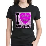 Promote Mall Shopping Women's Dark T-Shirt