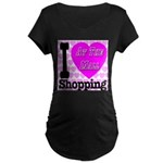 Promote Mall Shopping Maternity Dark T-Shirt