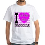 Promote Mall Shopping White T-Shirt