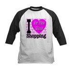 Promote Mall Shopping Kids Baseball Jersey