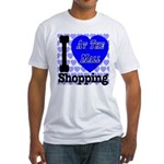 Promote Mall Shopping Fitted T-Shirt