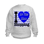 Promote Mall Shopping Kids Sweatshirt