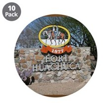 "Fort Huachuca 3.5"" Button (10 pack)"