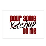 Ketchup on me Postcards (Package of 8)