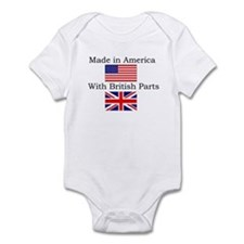 Cute Union jack Infant Bodysuit