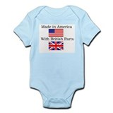 Cute Britain Onesie