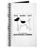 DIG BARK EAT Jack Russell Terrier Journal