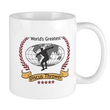 World's Greatest Discus Throw Small Mug