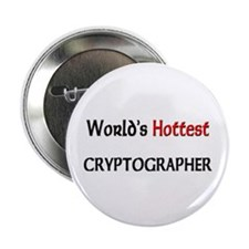 "World's Hottest Cryptographer 2.25"" Button (10 pac"