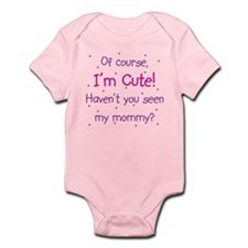 Cute Like Mommy Infant Bodysuit