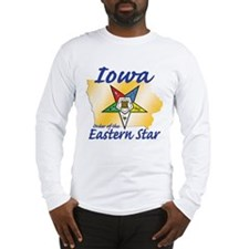 Iowa Eastern Star Long Sleeve T-Shirt
