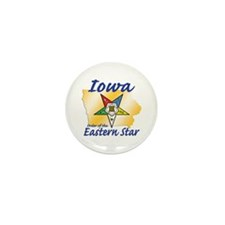 Iowa Eastern Star Mini Button (10 pack)