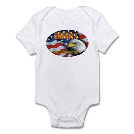One Nation 2 Infant Bodysuit