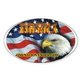 One Nation 2 Stickers