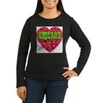Chicago Women's Long Sleeve Dark T-Shirt