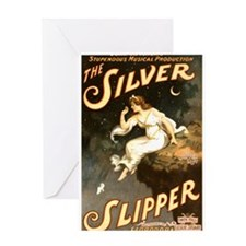 The Silver Slipper Greeting Card