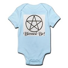 Blessed Be (Points Out) Infant Creeper