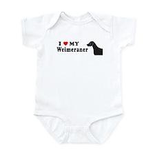WEIMERANER Infant Bodysuit