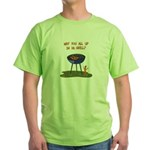 All Good In Da Grill Green T-Shirt