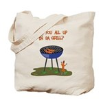 All Good In Da Grill Tote Bag