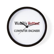 World's Hottest Computer Engineer Wall Clock