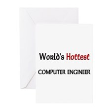 World's Hottest Computer Engineer Greeting Cards (