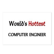 World's Hottest Computer Engineer Postcards (Packa