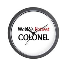 World's Hottest Colonel Wall Clock
