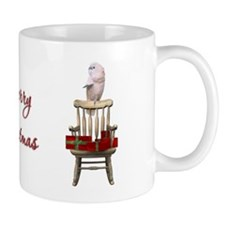 Cockatoo Christmas Small Mug