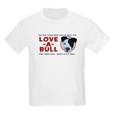 Love A Bull Kids T-Shirt
