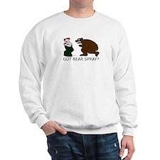 Funny Camping Bear Sweatshirt
