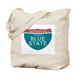 Alaska Blue State T-shirts Tote Bag