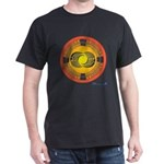 Aztec Sun Stone Crop Circle T-Shirt