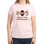 Peace Love Phlebotomy Women's Light T-Shirt
