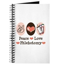 Peace Love Phlebotomy Journal