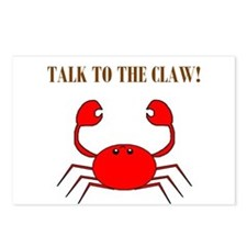 TALK TO THE CLAW Postcards (Package of 8)