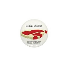 Real Girls Eat Meat Mini Button (100 pack)