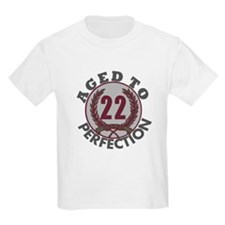 22 years... Aged to Perfectio T-Shirt