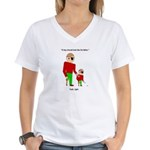 Pirate Women's V-Neck T-Shirt