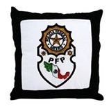 Mexican Federal Police Throw Pillow
