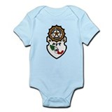 Mexican Federal Police Infant Bodysuit