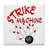 Strike Machine Tile Coaster