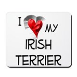 Irish Terrier Mousepad